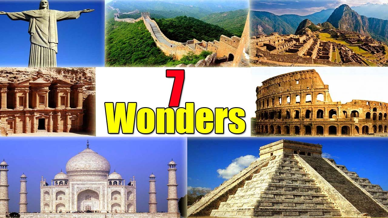 7 Wonders of the World - A1FACTS