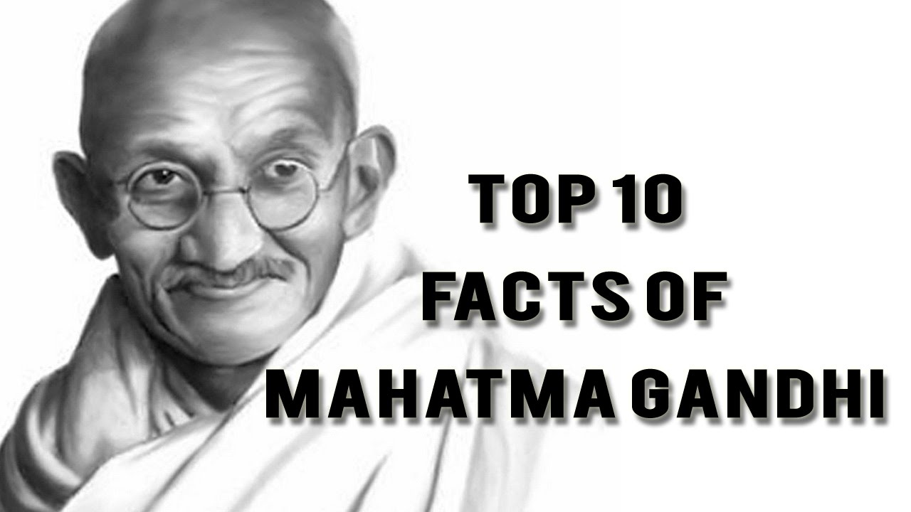 Information about mahatma gandhi in english