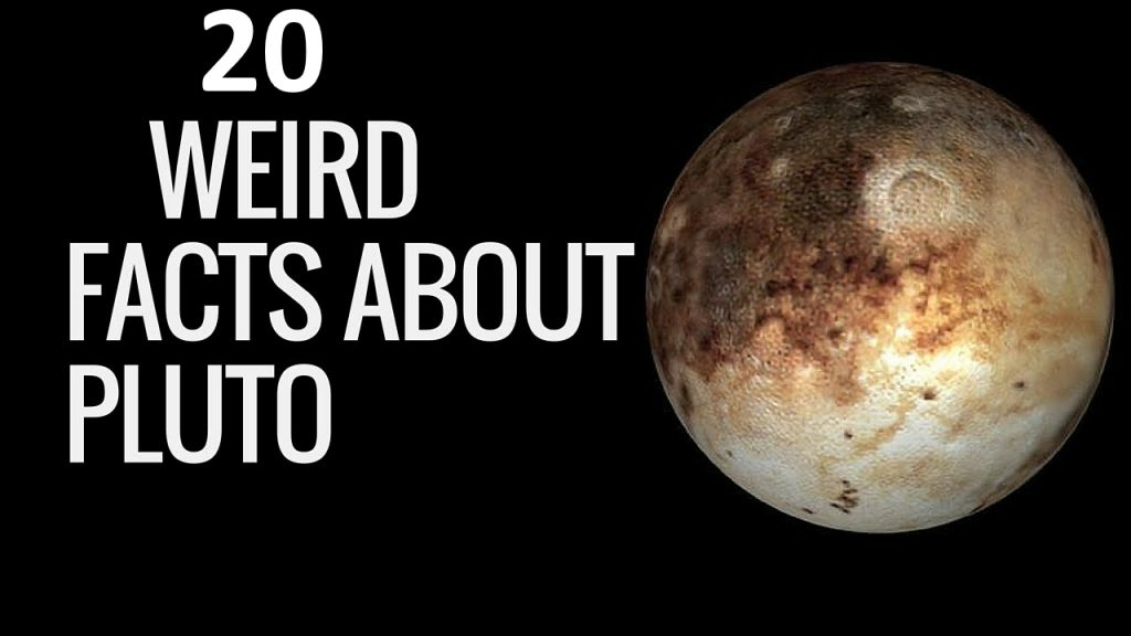 pluto planet facts for kids