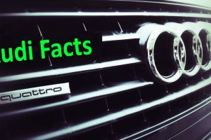 Audi Facts