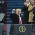 Donald Trump Inauguration : Taken Oath Of Presidency Of United States