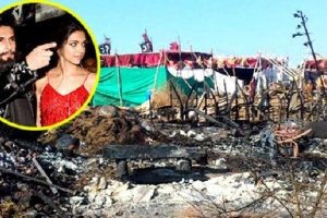 Padmavati Set Attacked
