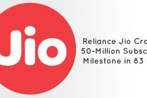 50 Million Paid Jio Subscribers