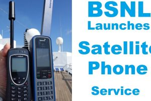 BSNL Launches Satellite Phone